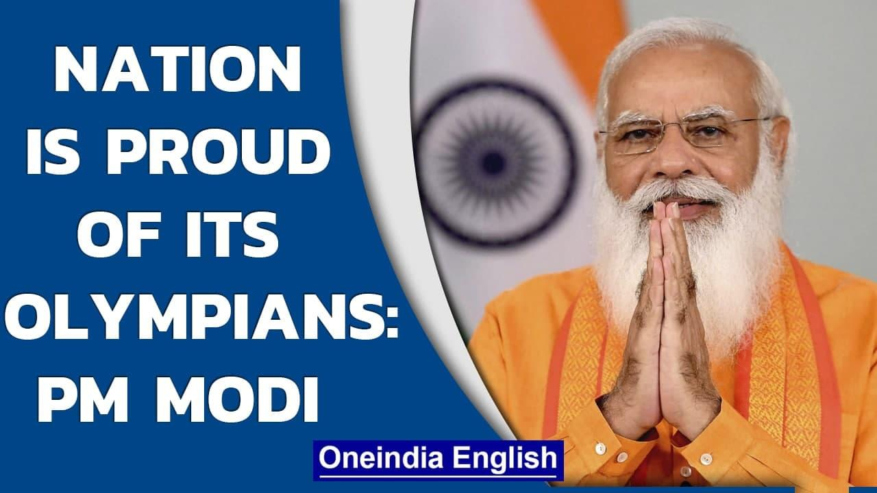 PM Narendra Modi hails India's Olympians on Olympic Day | Oneindia News
