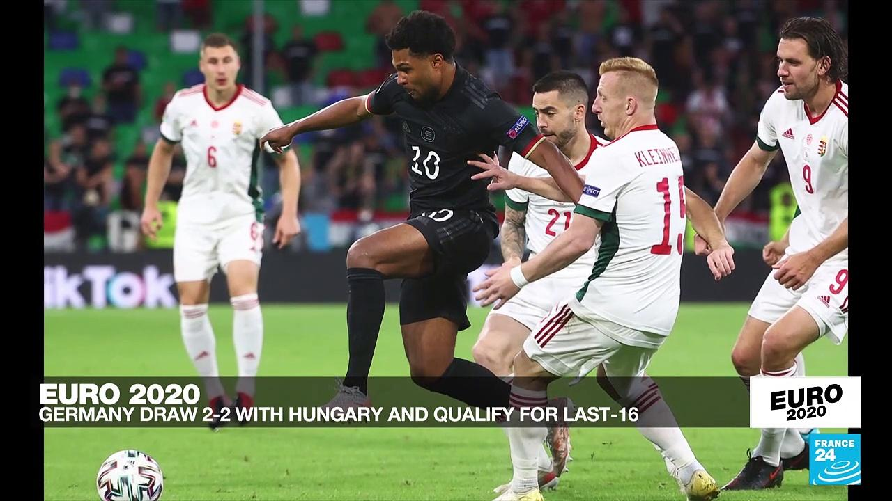 Germany salvage late 2-2 draw against Hungary to head for Euro 2021 last 16