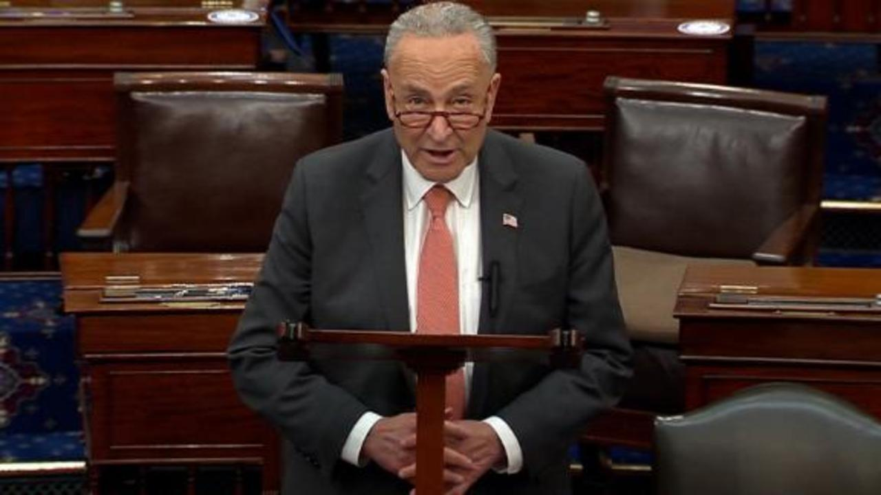 'Ridiculous': Schumer slams Republicans for blocking Democrats' voting rights bill