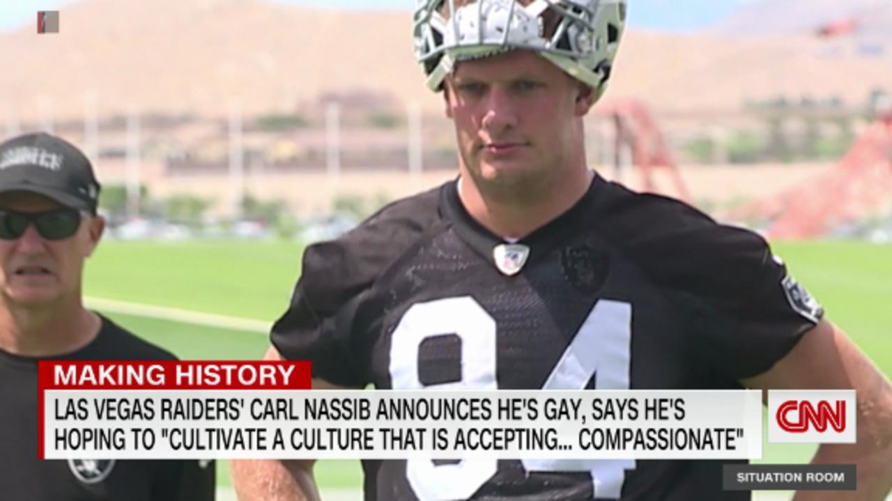 First active NFL player to announce he's gay
