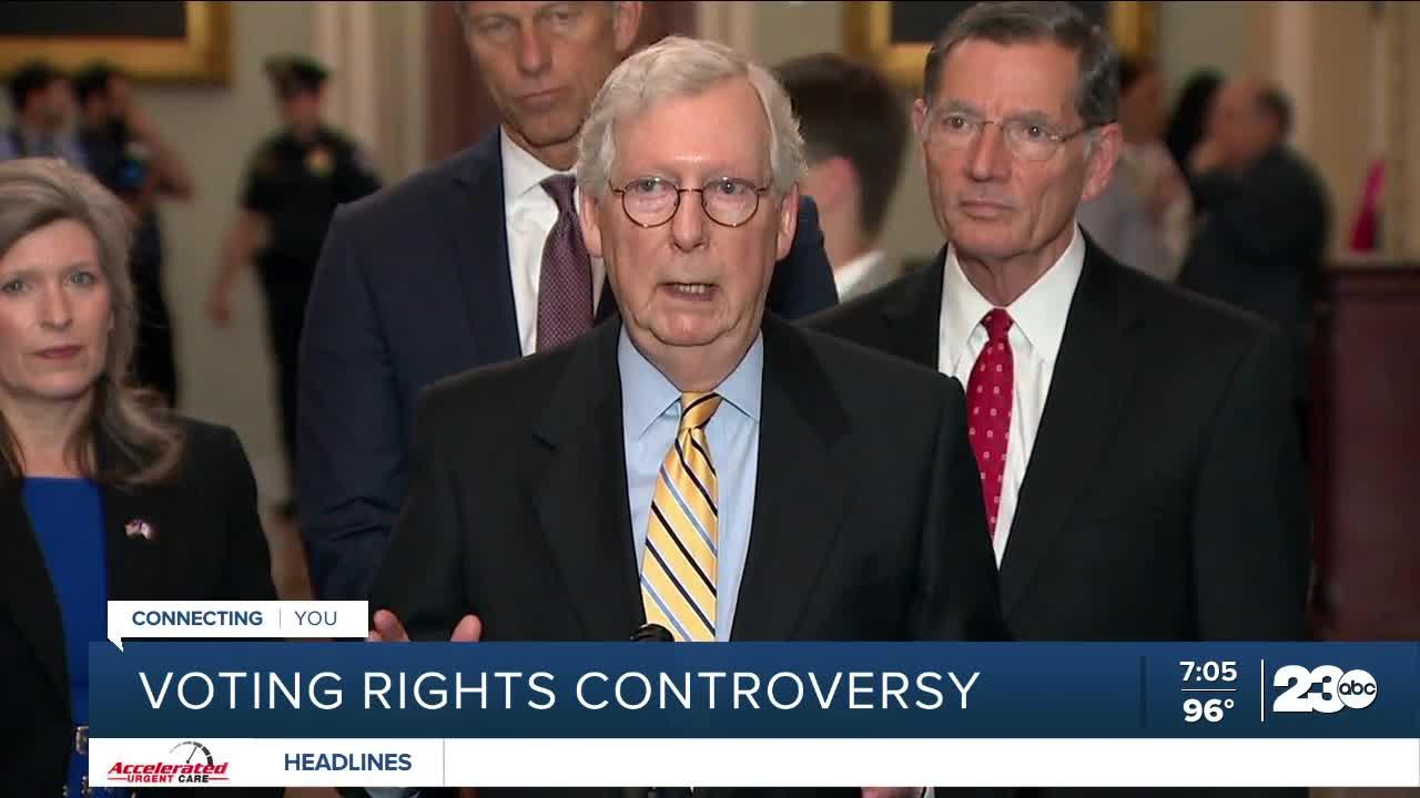 Voting rights controversy