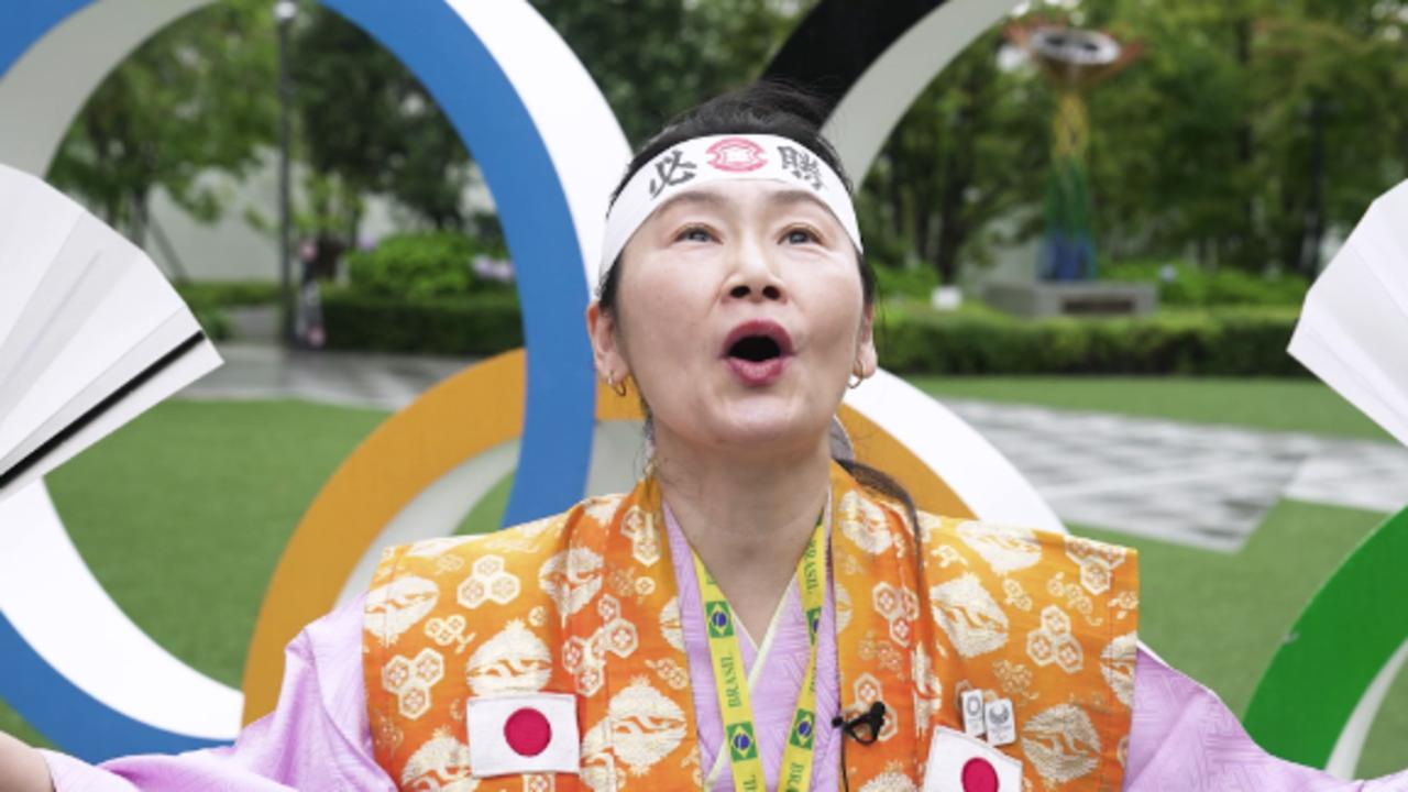 Meet the super fan who has cheered at the Olympics since 1992