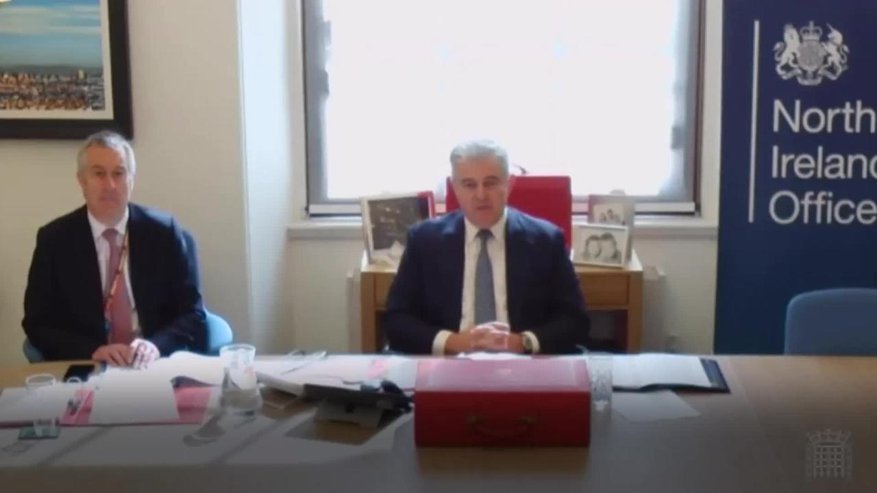 Brandon Lewis says changes will have to be made to Northern Ireland Protocol