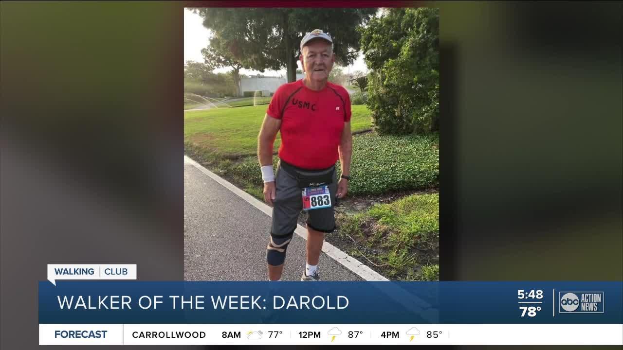 Walking Club Walker of the Week: Darold