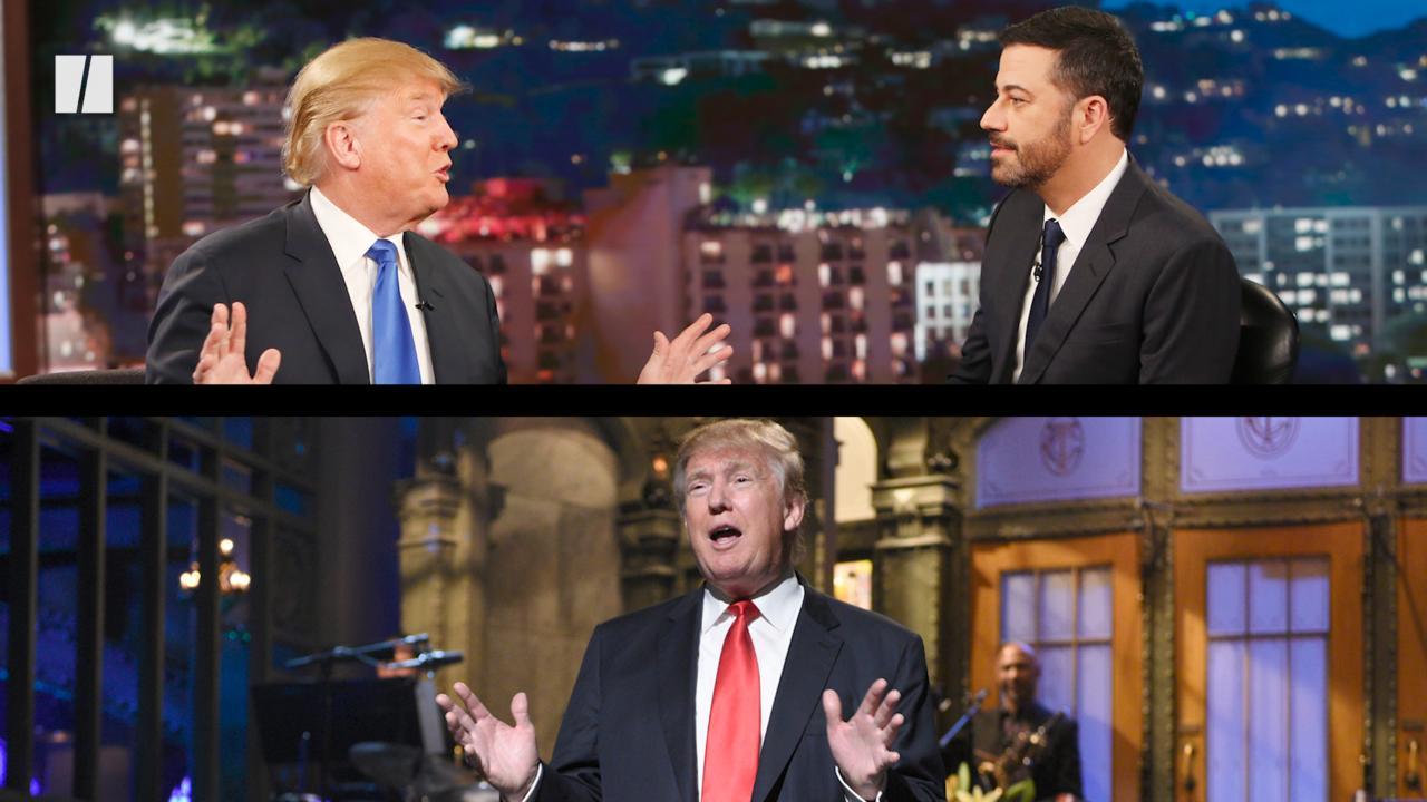 Trump Can't Take A Joke