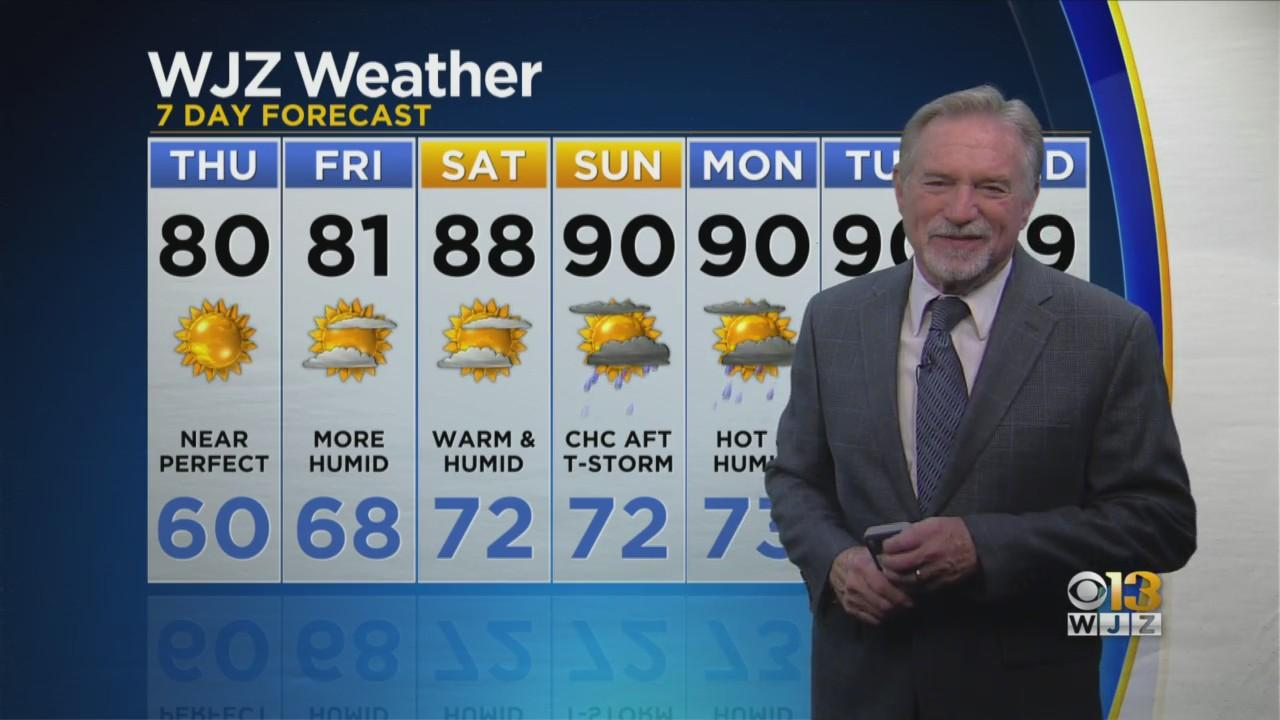 Bob Turk Has Your Evening Weather Forecast