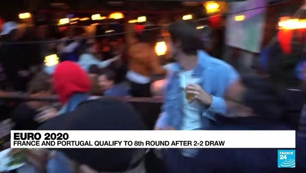 Euro 2021: France and Portugal qualify to 8th round after 2-2 draw