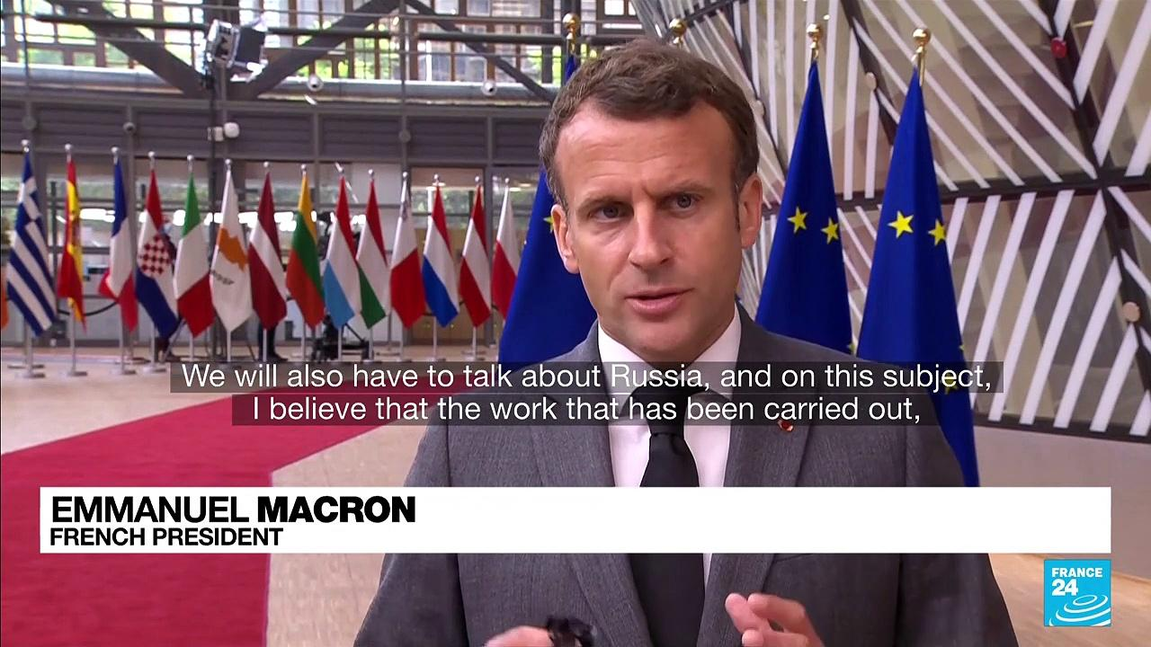 French president Macron says Europe's 'stability' requires talks with Russia