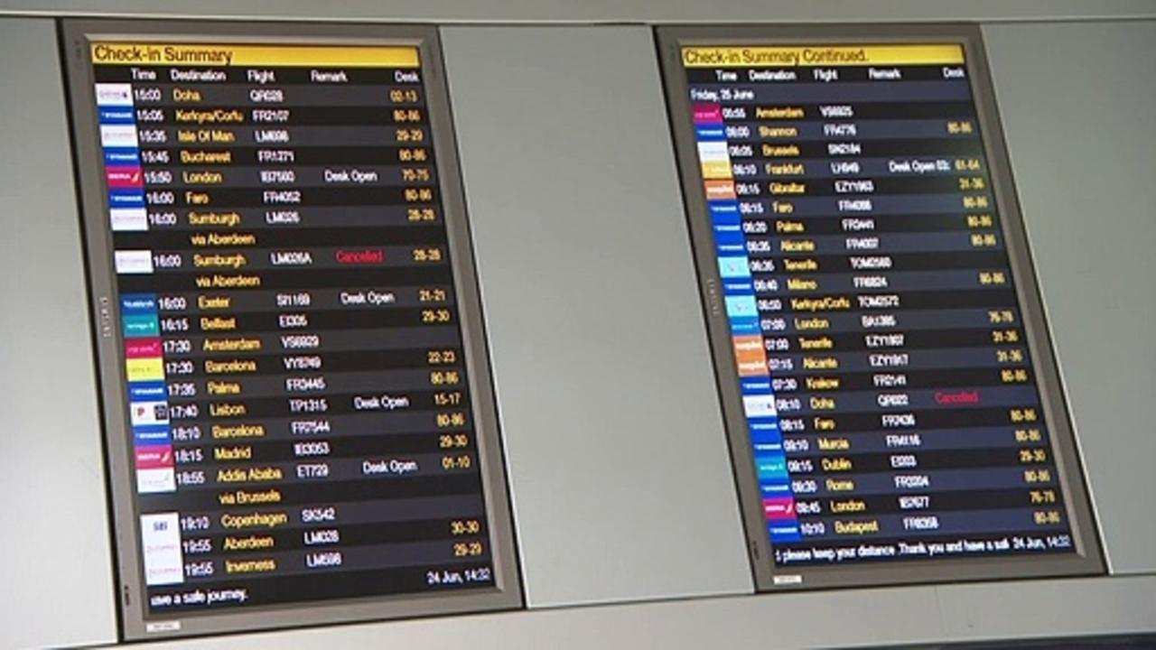 'Give us a break': Holidaymakers await travel update