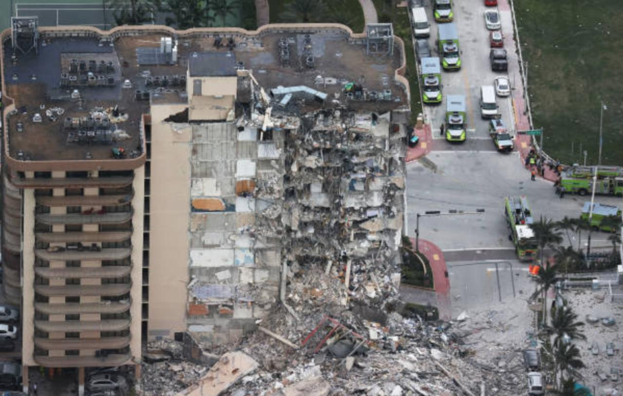 99 People Unaccounted for in Miami Residential Building Collapse