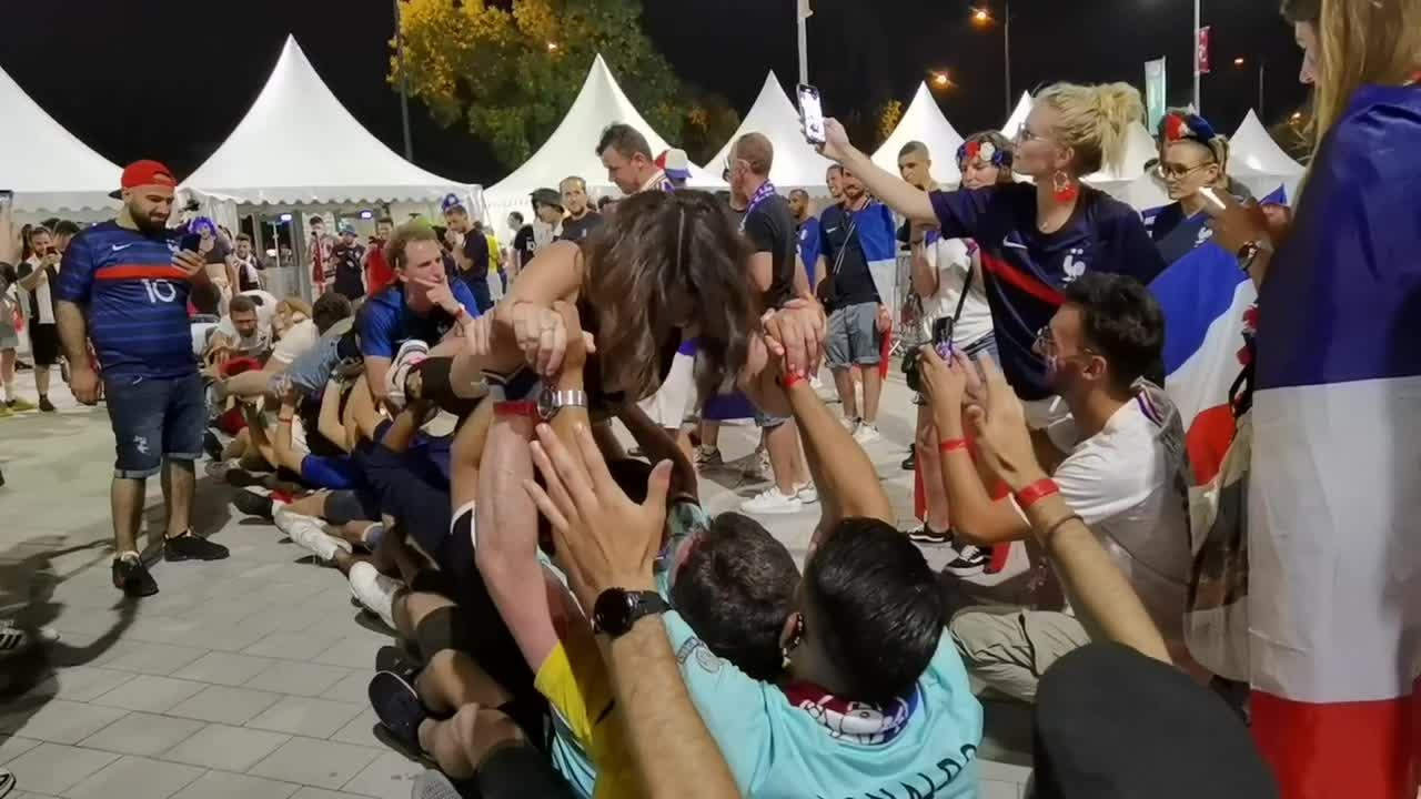 EURO 2020: Sights and sounds from from fervent fans of the France-Portugal match