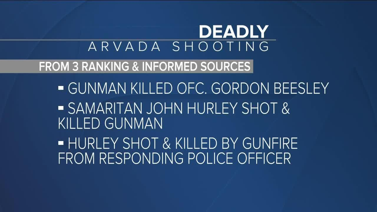 Good Samaritan who died in Arvada shooting was shot by police, according to sources