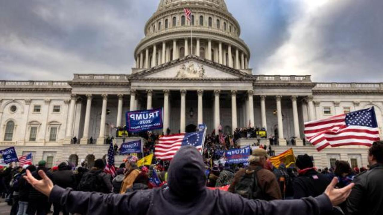 New bodycam video released of rioters attacking police at Capitol