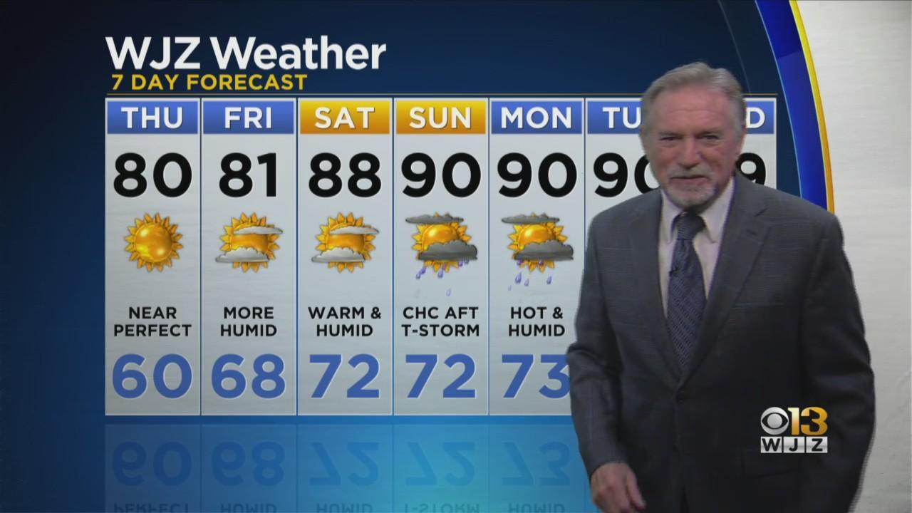 Bob Turk Has A Look Ahead At Your Thursday Forecast