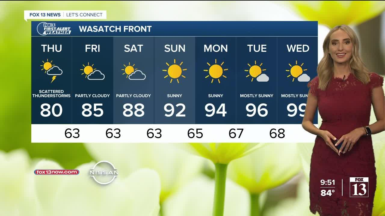 FOX 13 evening weather | Wednesday, June 23