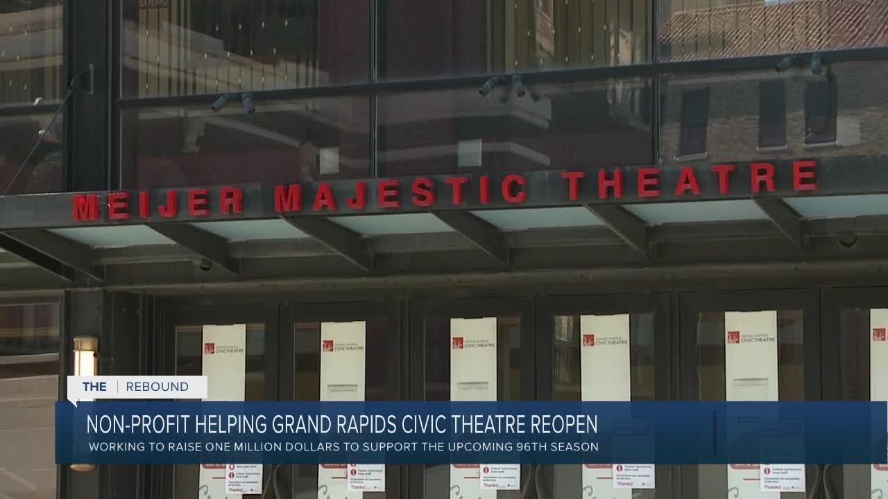 Nonprofit helping Grand Rapids Civic Theatre reopen