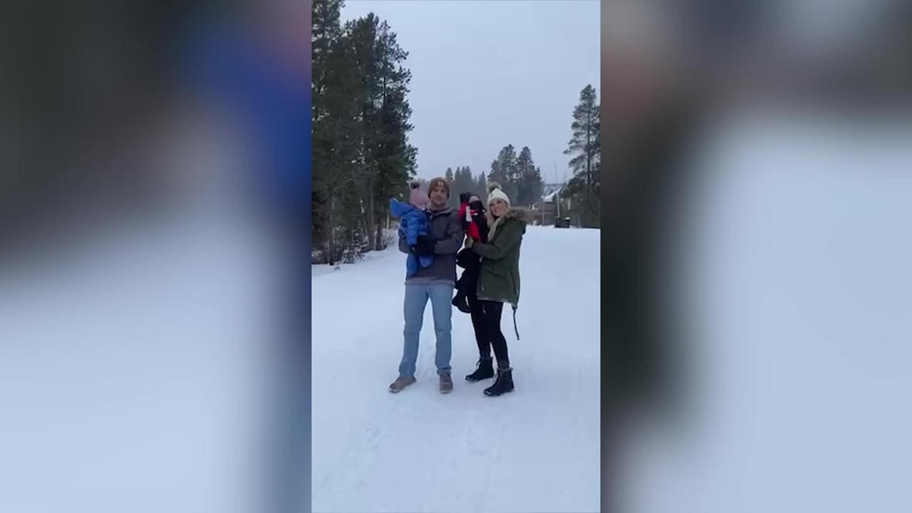 US mum surprises her childhood sweetheart by proposing to him four years after she called off their FIRST ENGAGEMENT