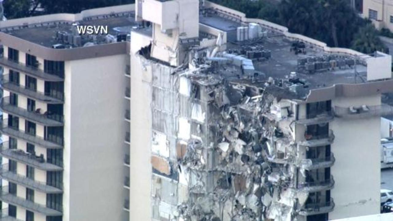 'Eerily quiet': Neighbor describes arriving at building collapse