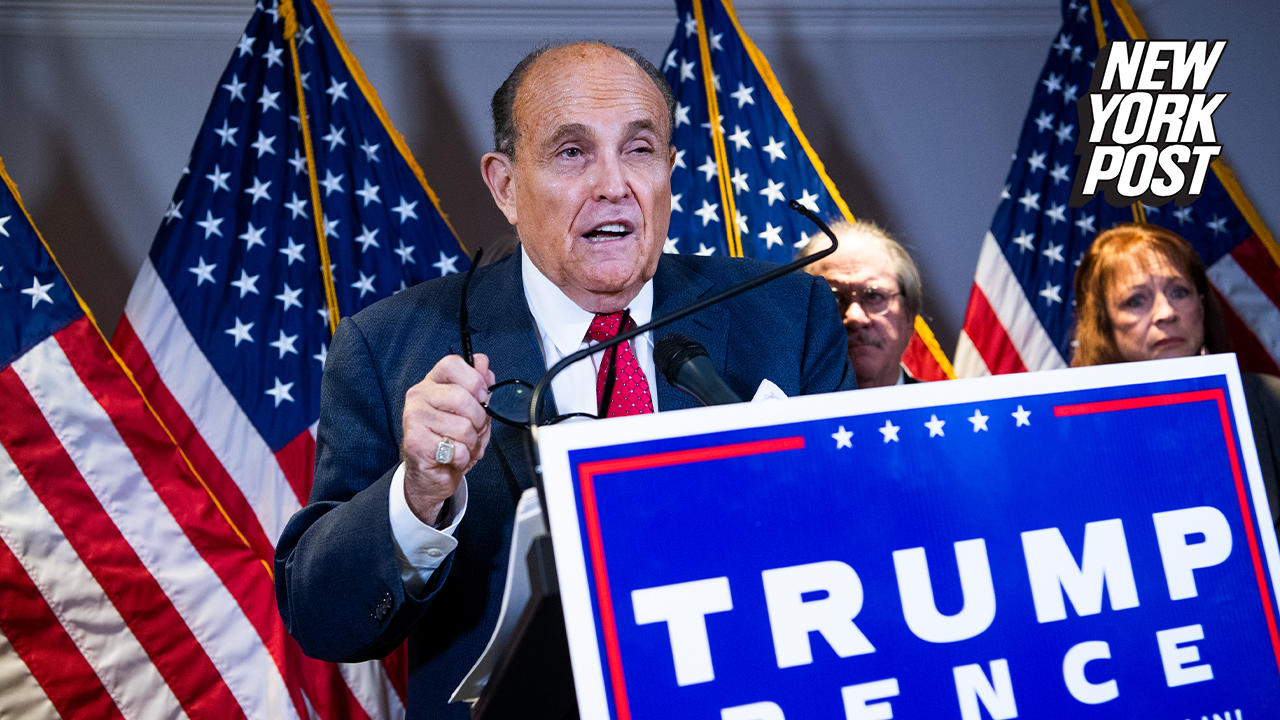 Rudy Giuliani's law license suspended in NY over statements on voter fraud