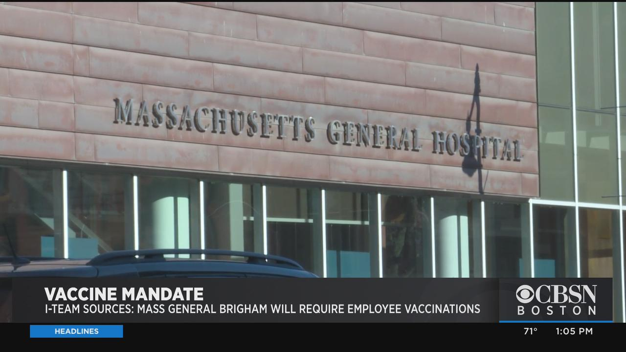 Boston Hospital Networks Plan To Require COVID Vaccines For Employees