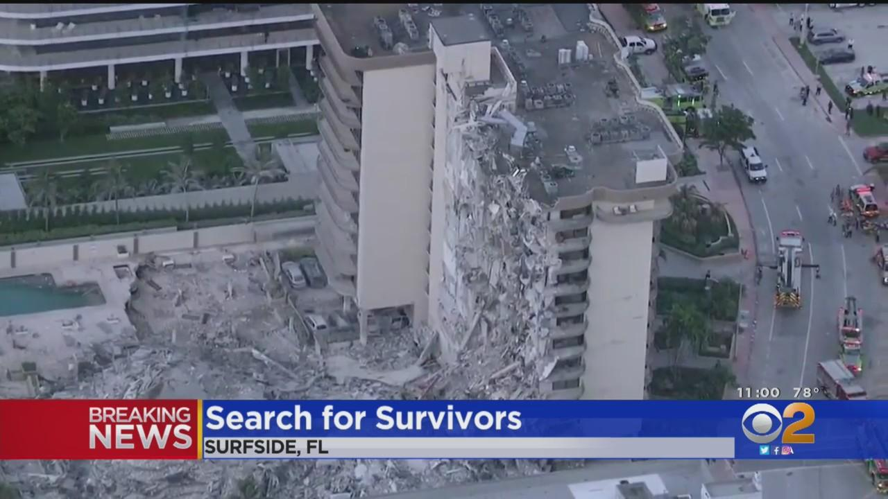 At Least One Killed, 51 Unaccounted For After Multi-Story Building Partially Collapses In South Florida