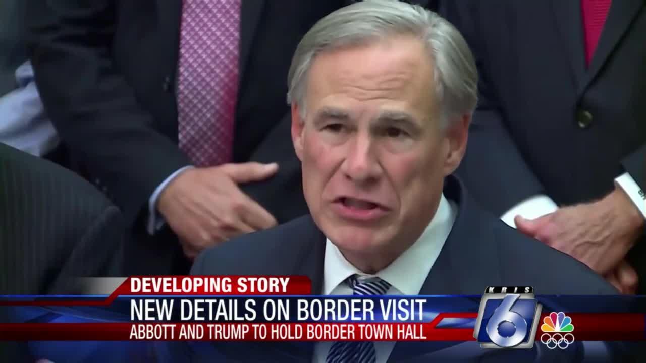Abbott blasts Vice President's trip to border