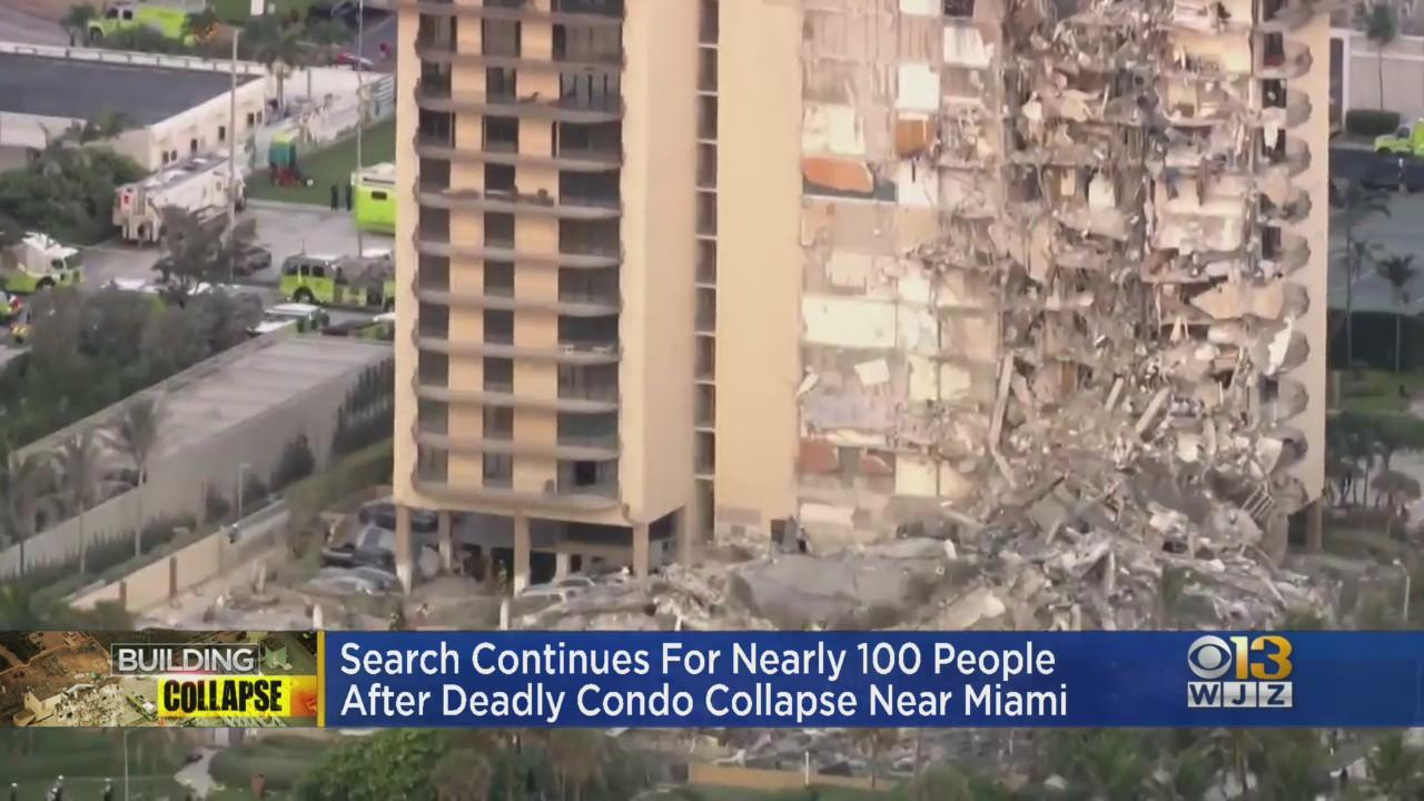 At Least 1 Dead, 9 Hurt In Partial Condo Building Collapse Near Miami Beach; Video Shows Boy Pulled From Rubble