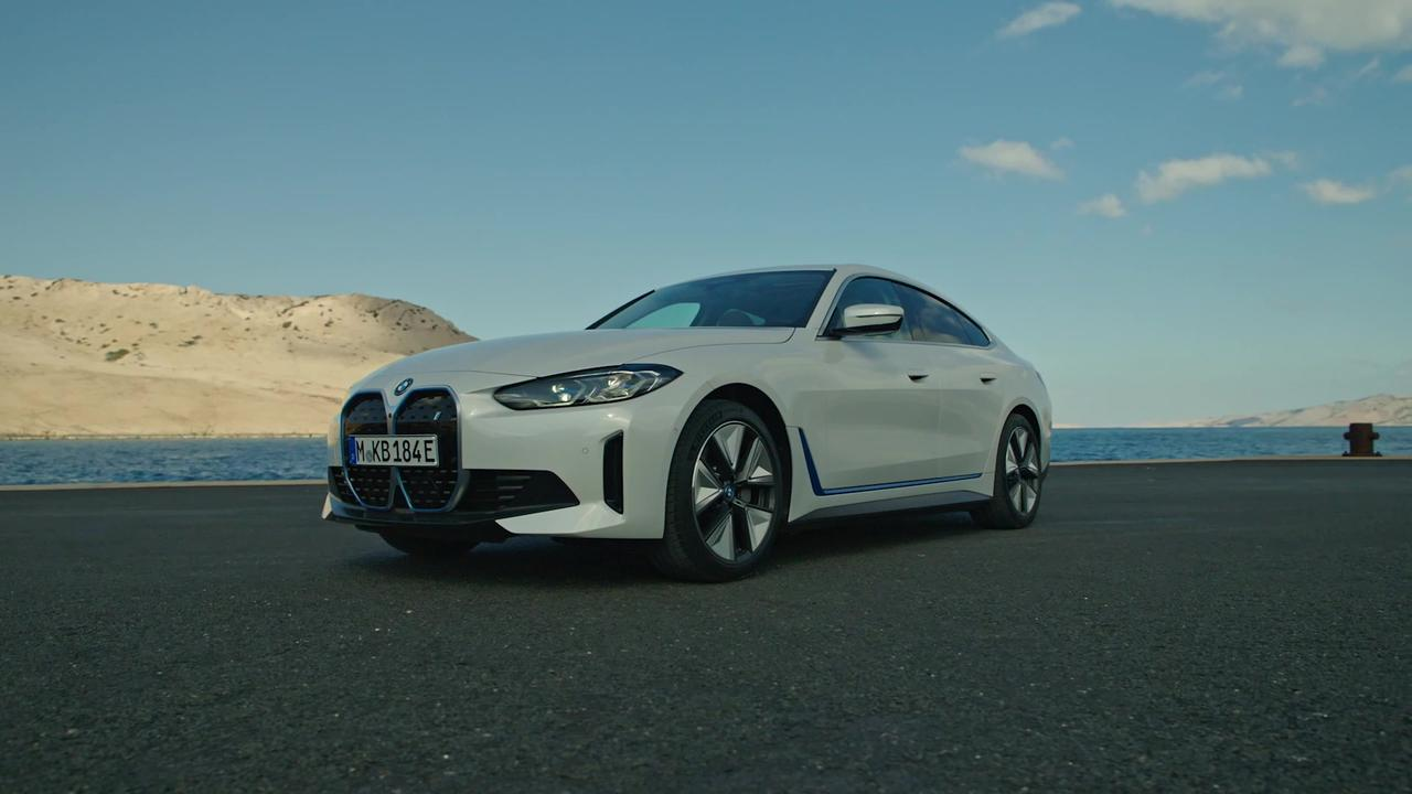 The first-ever BMW i4 eDrive40 Design Preview