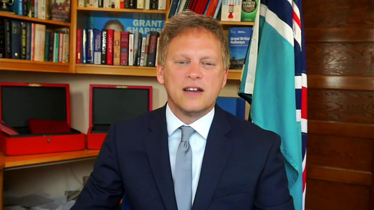 Grant Shapps: 'We're all human'