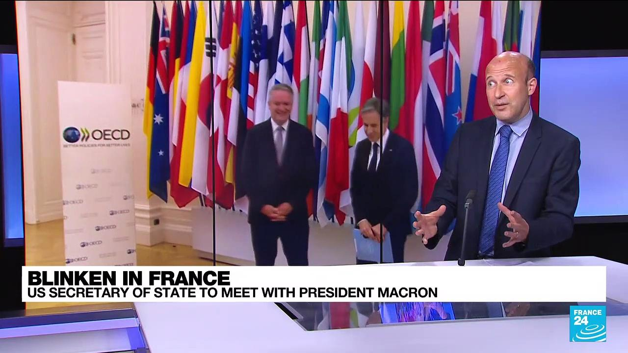 US Secretary of State to meet with President Macron