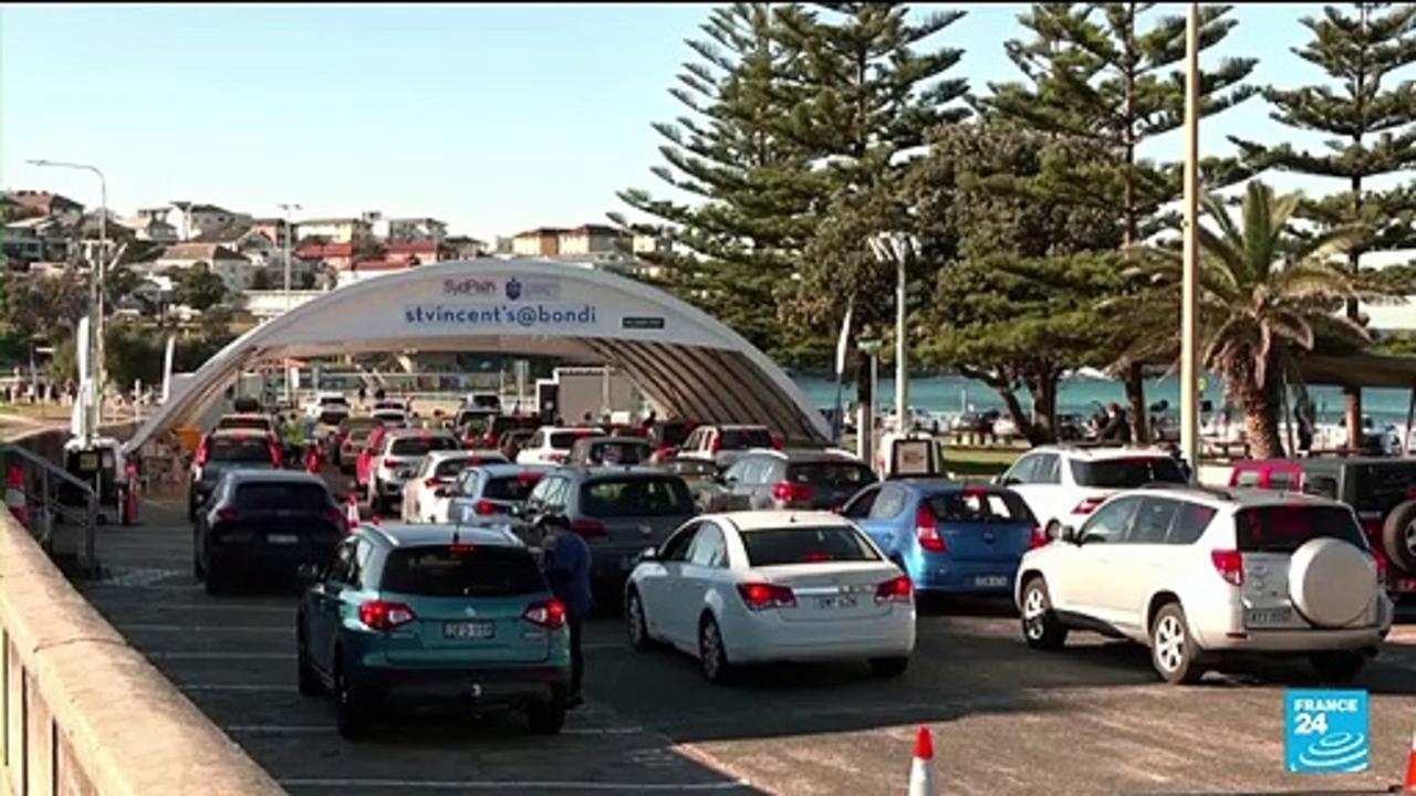 Central Sydney, Bondi locked down over Delta variant spread