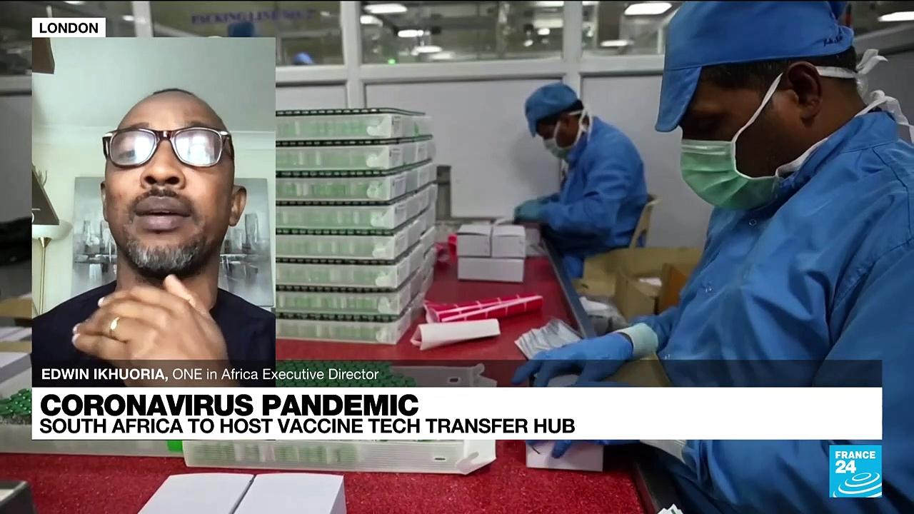 Coronavirus pandemic: South Africa to host vaccine tech transfer hub