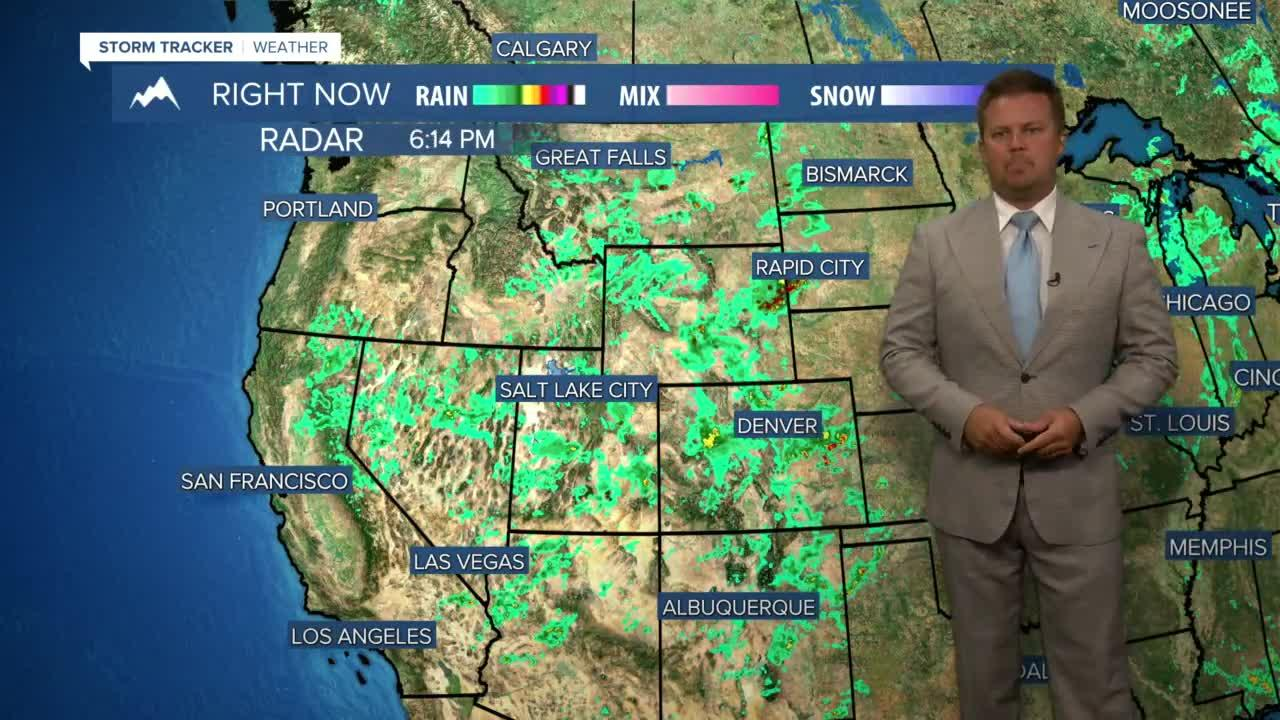 Enjoy the Storms, Clouds & Cool-ish Weather, Heat is Coming