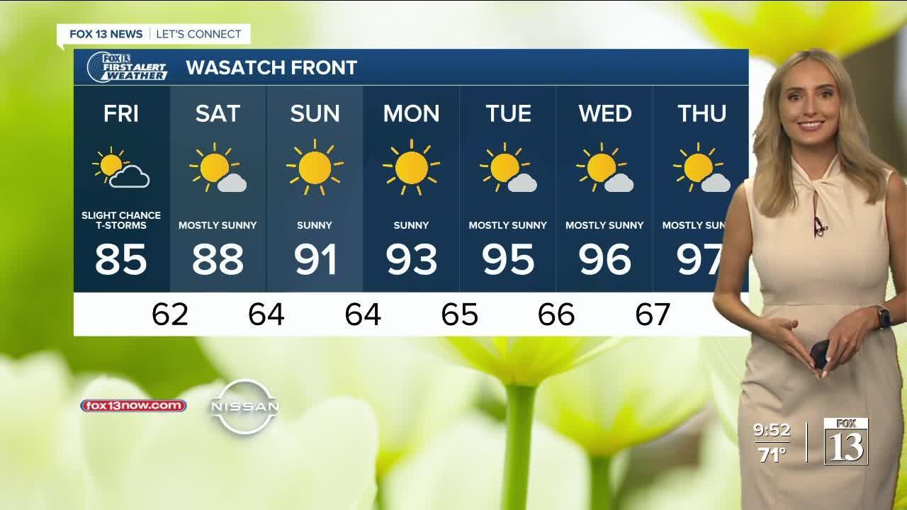 FOX 13 evening weather   Thursday, June 24