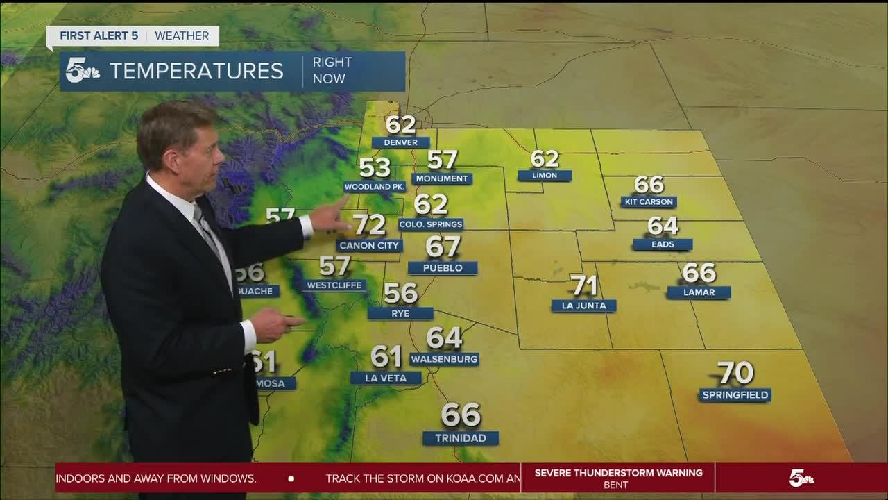 More thunderstorms expected on Friday