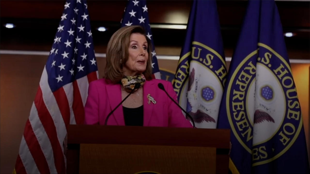 Pelosi Announces a House Select Committee Will Investigate US Capitol Breach
