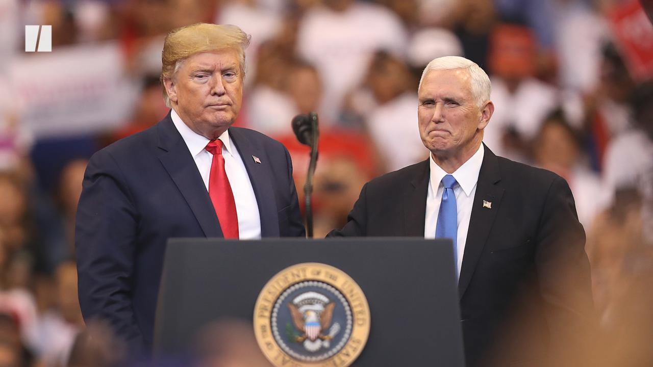 Pence Breaks With Trump — Again