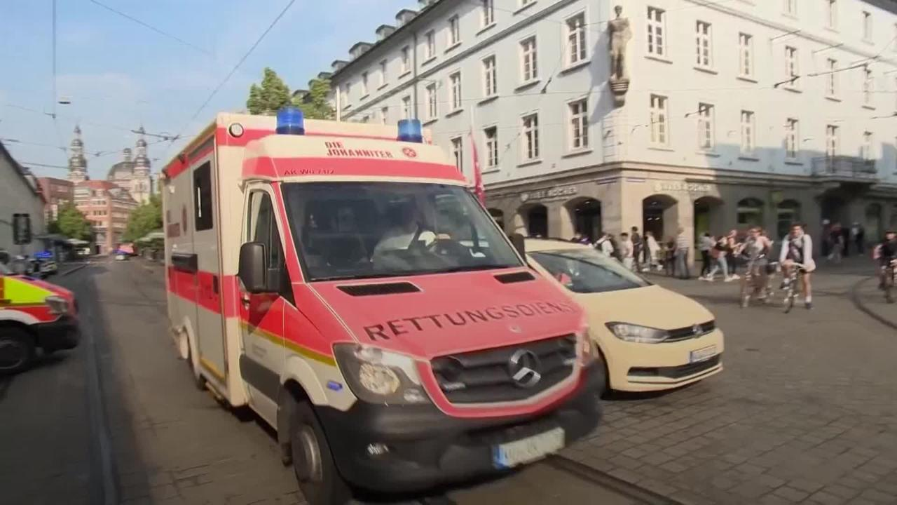 Man arrested after three killed in knife attack in Germany