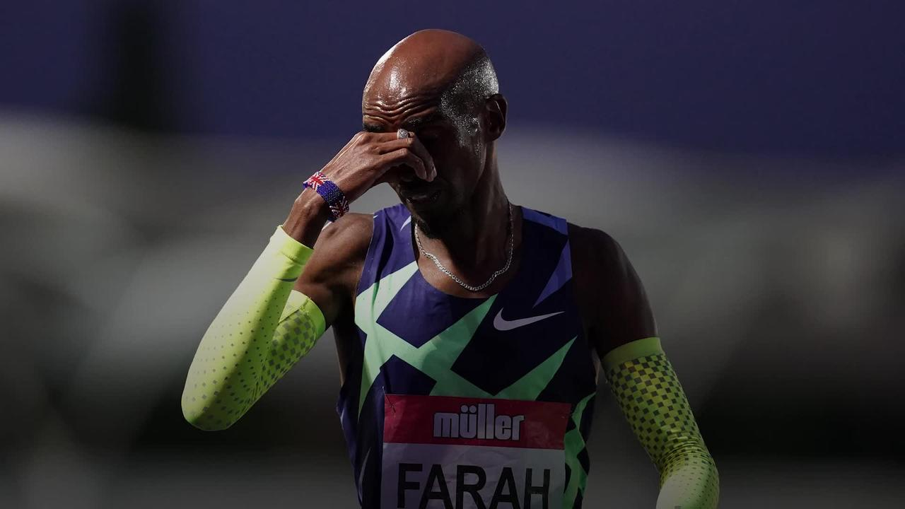 Mo Farah misses out on Olympics after falling short of 10,000m qualifying time