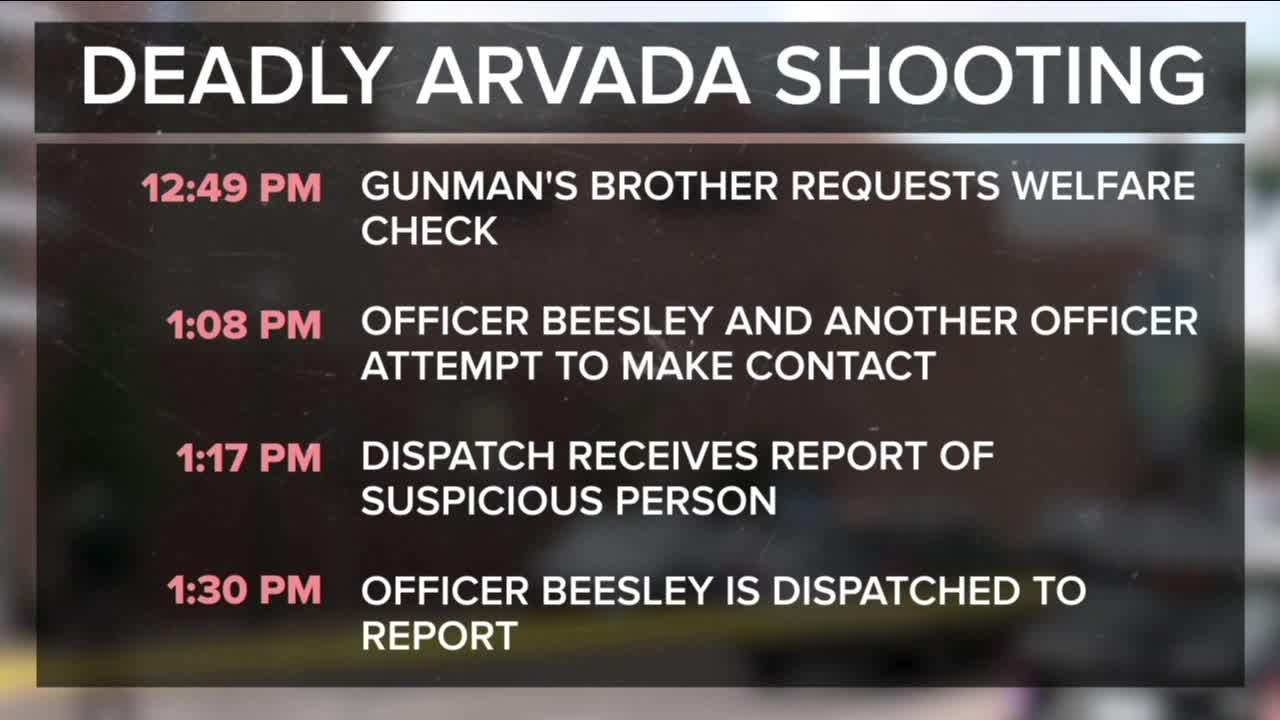 Arvada police confirm officer shot Johnny Hurley, say he was holding suspect's rifle at the time