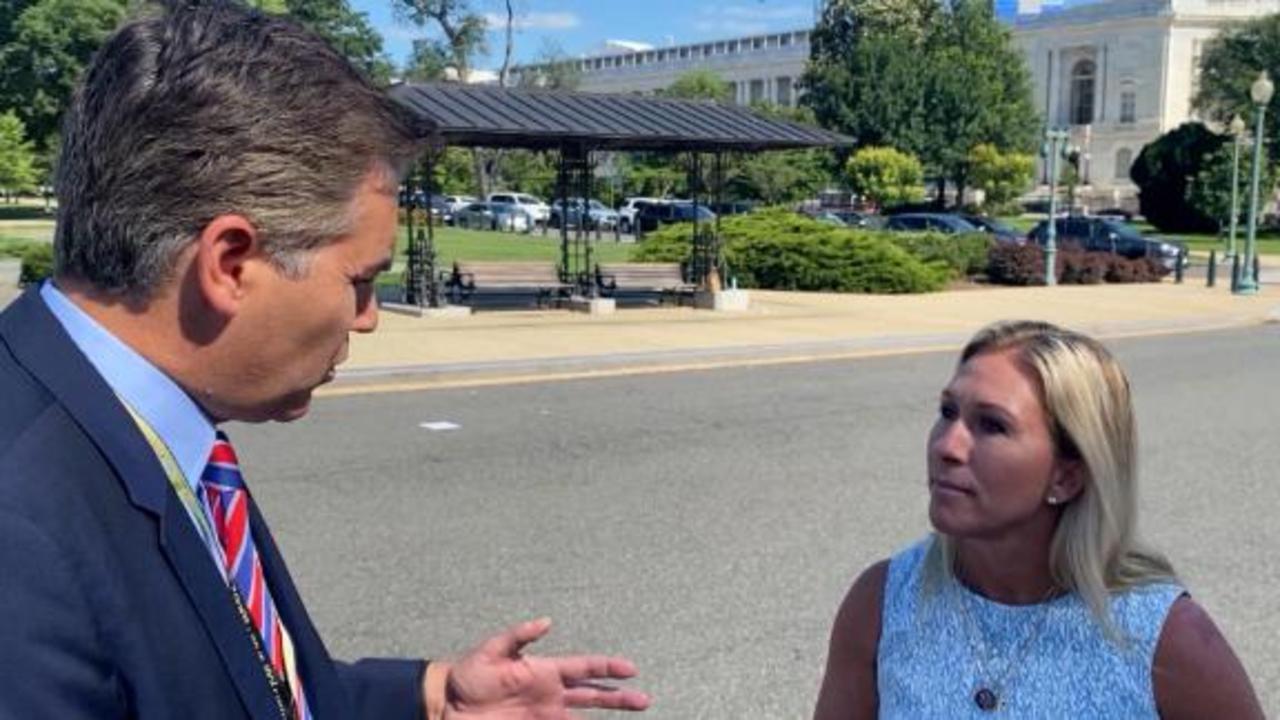 Marjorie Taylor Greene wants to work with Nancy Pelosi