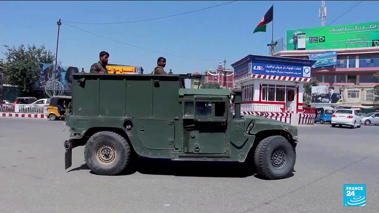 Thousands displaced by Taliban violence around northern Afghan city