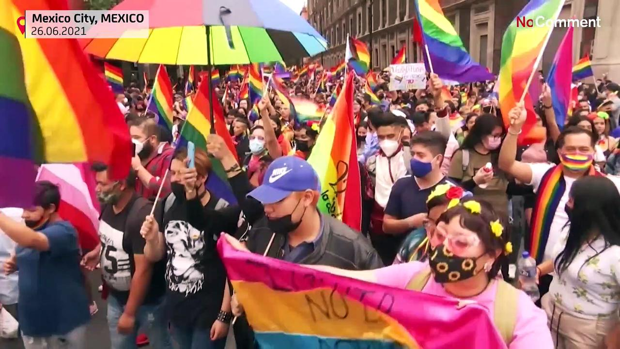 South American's LGBTQ communities call for equal rights in Pride Parade