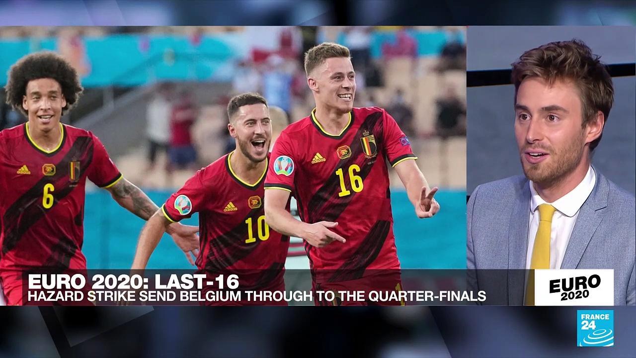 Belgium knock out holders Portugal to reach Euro 2021 quarter-finals