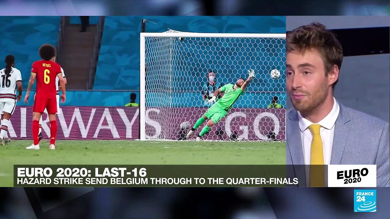 Euro 2021: Belgium knock out Ronaldo and Portugal, Czechs end Dutch dreams
