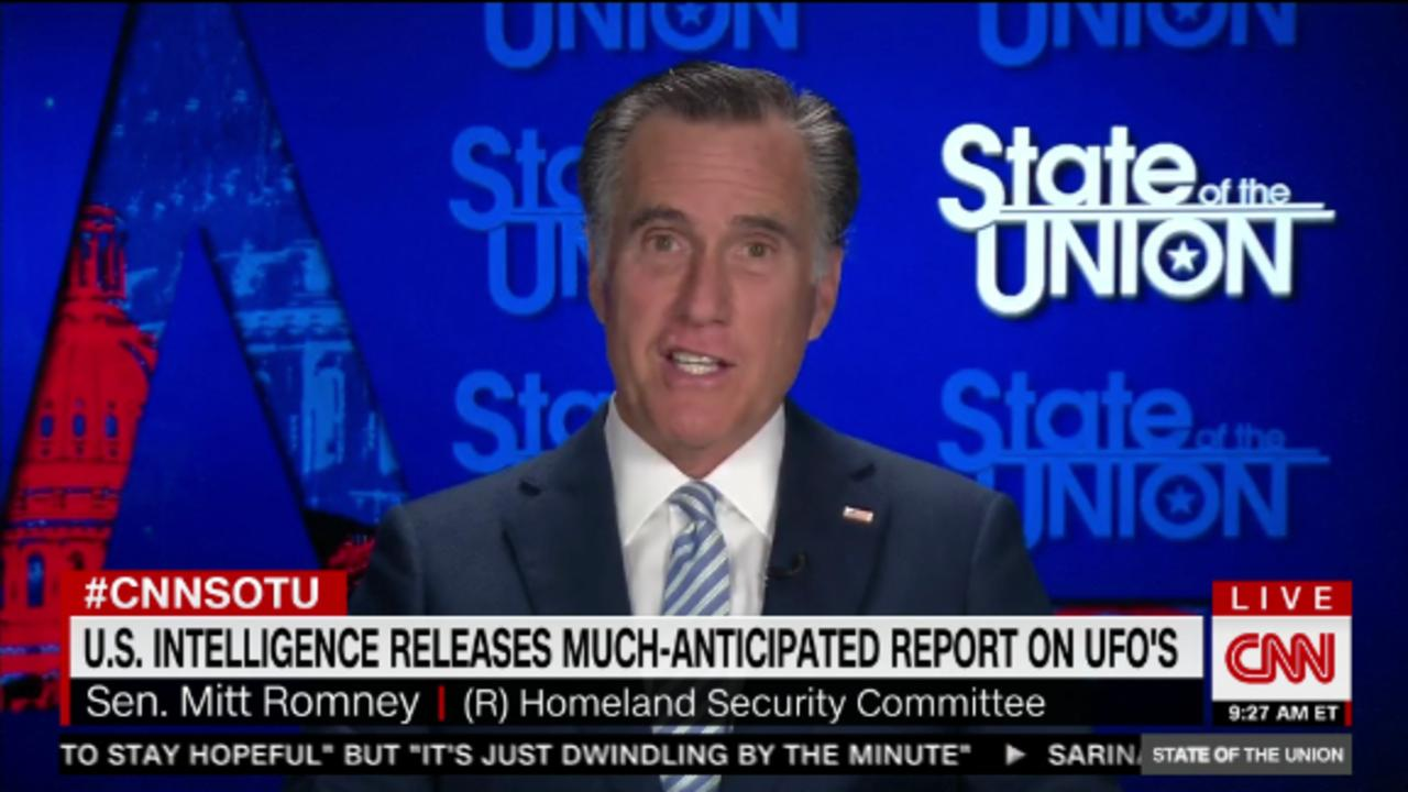 Romney on UFOs: 'I guess all things are possible'
