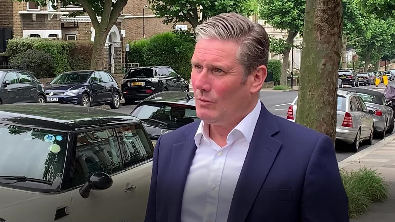 Keir Starmer: Boris Johnson should have sacked Matt Hancock