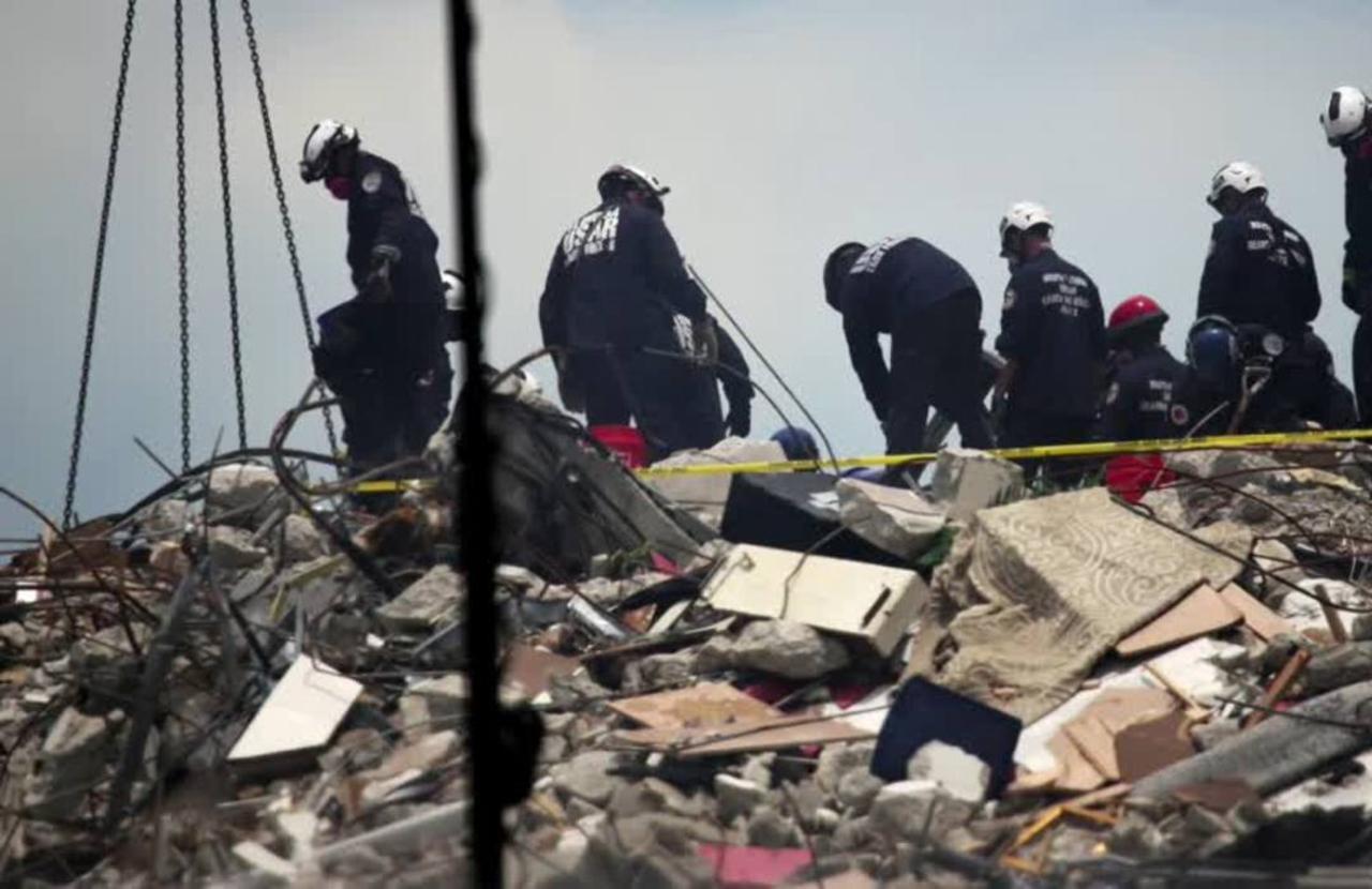 Death toll in Florida condo collapse rises