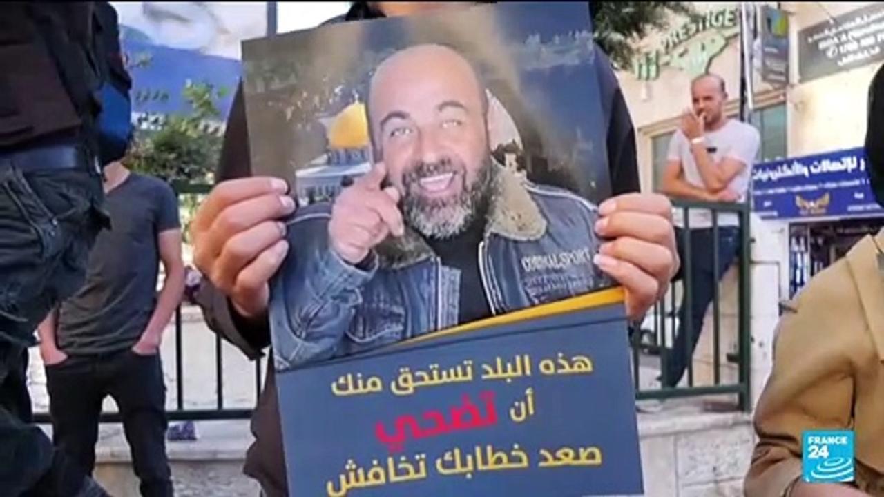 Palestinians protest against Abbas after activist's death