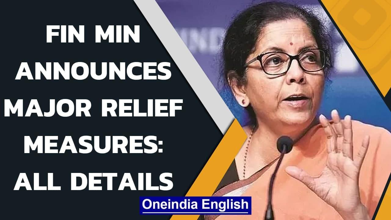 Nirmala Sitharaman's economic relief measures: All you need to know | Oneindia News